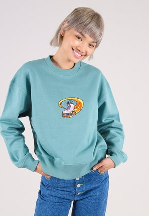 FUNKY DISCO - Sweater - turquoise