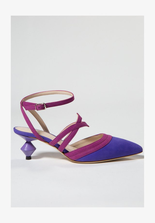 ASTER - Højhælede sandaletter / Højhælede sandaler - bouganville