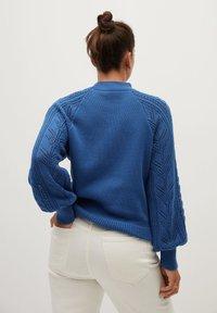 Violeta by Mango - GREY - Jumper - blau - 2