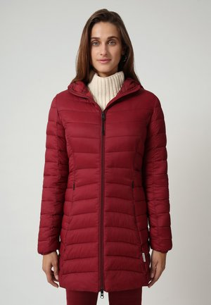 AERONS LONG - Down coat - vint amaranth