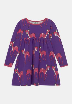 DEER - Jersey dress - imperial purple