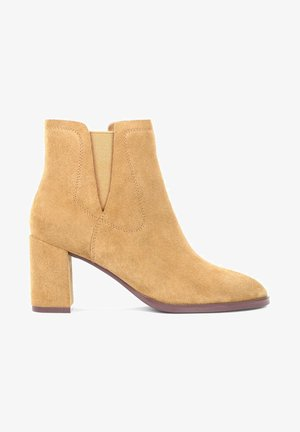 CHIVES - Ankle boots - light brown