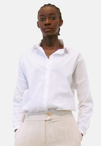 Aline Celi - Button-down blouse - white - 0