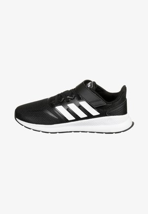RUNFALCON UNISEX - Chaussures de running neutres - core black / footwear white