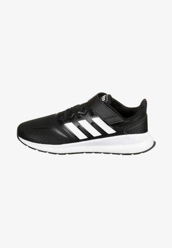 RUNFALCON UNISEX - Zapatillas de running neutras - core black / footwear white