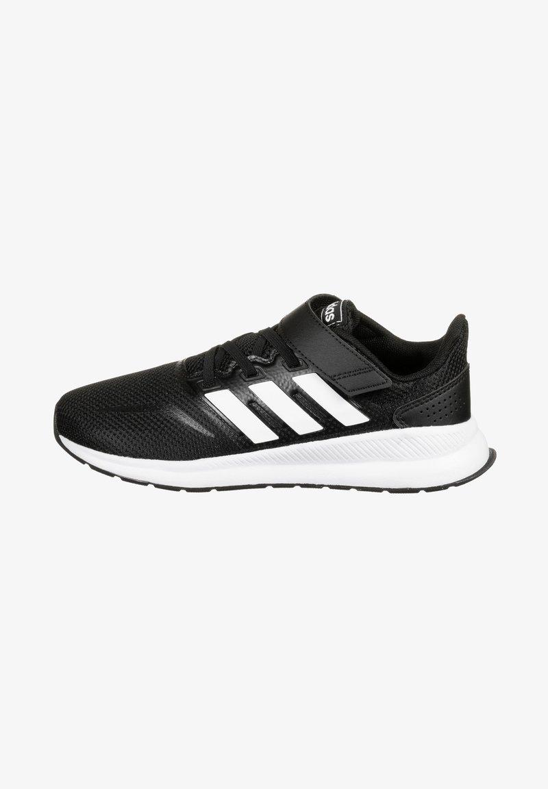 adidas Performance - RUNFALCON UNISEX - Neutral running shoes - core black / footwear white