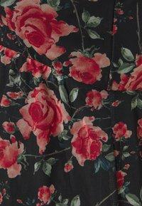 Anna Field MAMA - Kjole - black/pink - 2