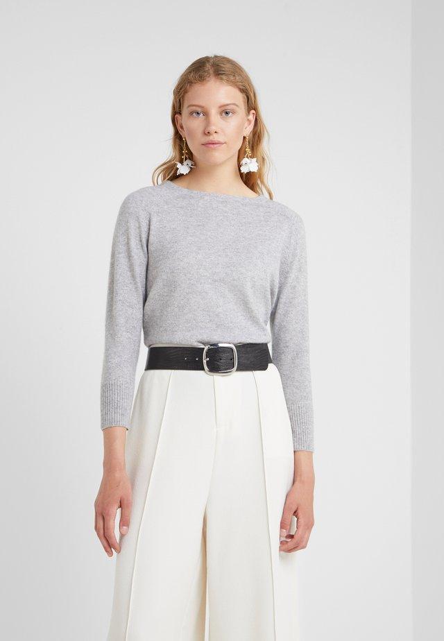 Svetr - heather grey