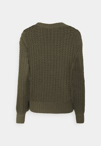 Moss Copenhagen - ARIELLA  - Jumper - grape leaf - 1