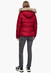 QS by s.Oliver - Winter jacket - brick red - 2