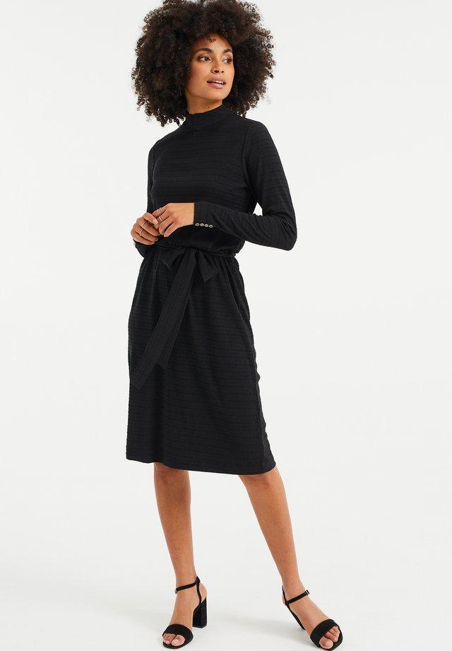 MET GERIMPELDESTRUCTUUR - Sukienka letnia - black