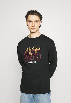 VARSITY CREW - Sweater - black
