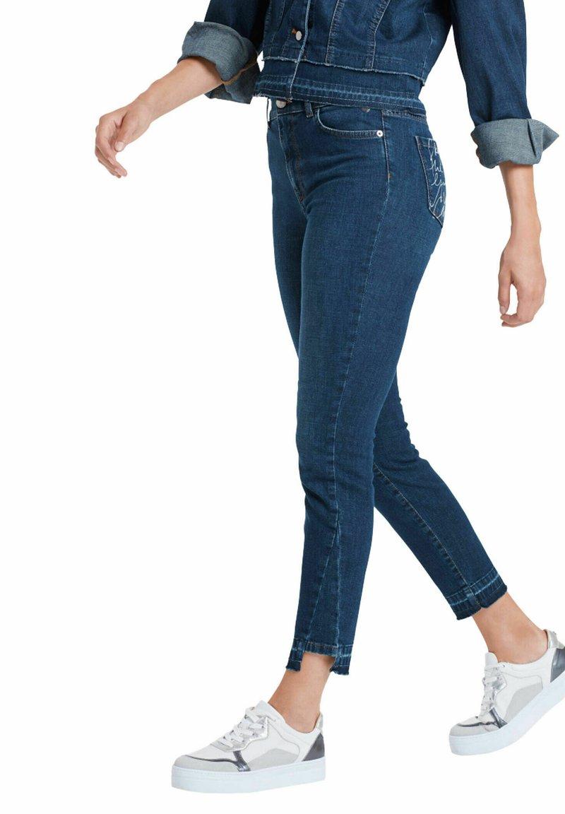 Marc Cain - Slim fit jeans - stoned blue