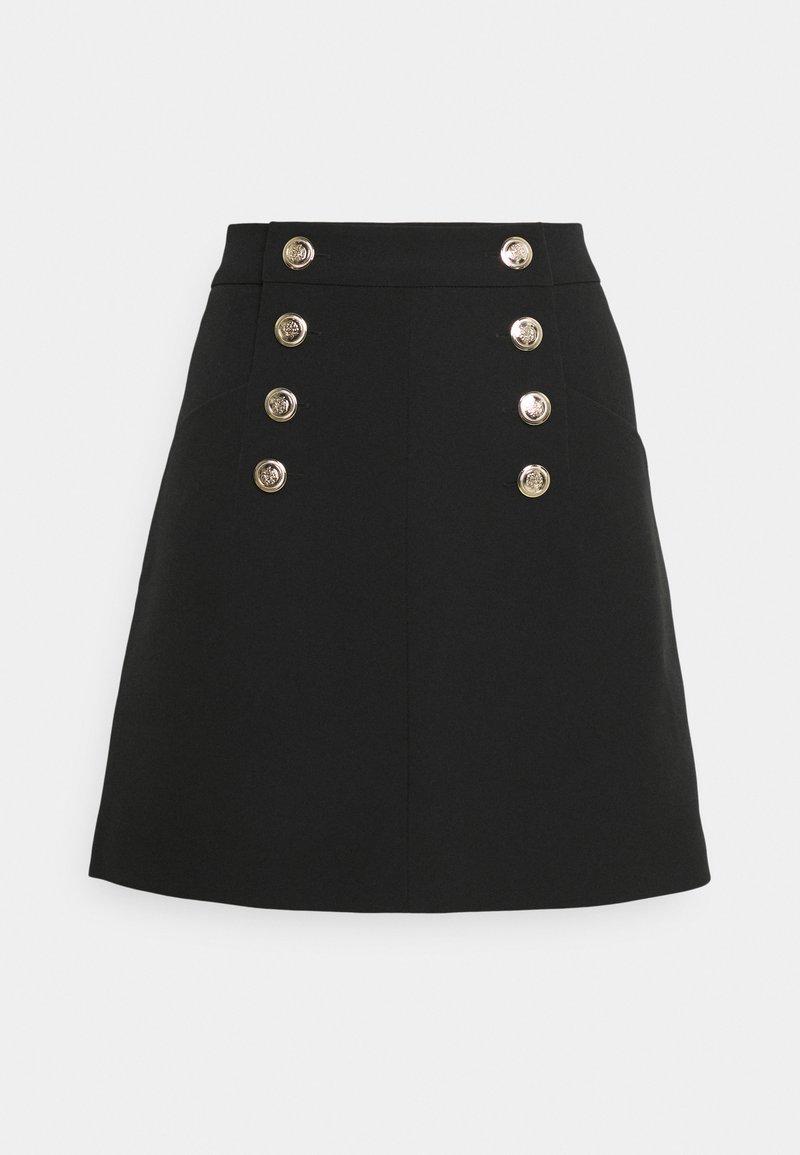 Morgan - JORY - A-line skirt - noir