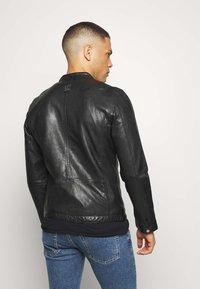 Freaky Nation - EASY JIM - Leather jacket - black - 2