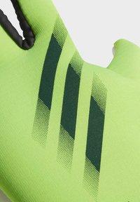 adidas Performance - X TRAINING GOALKEEPER GLOVES - Gloves - green - 1