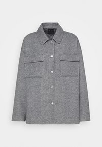 Vero Moda - VMVERODONAVITA JACKET - Summer jacket - light grey melange - 0