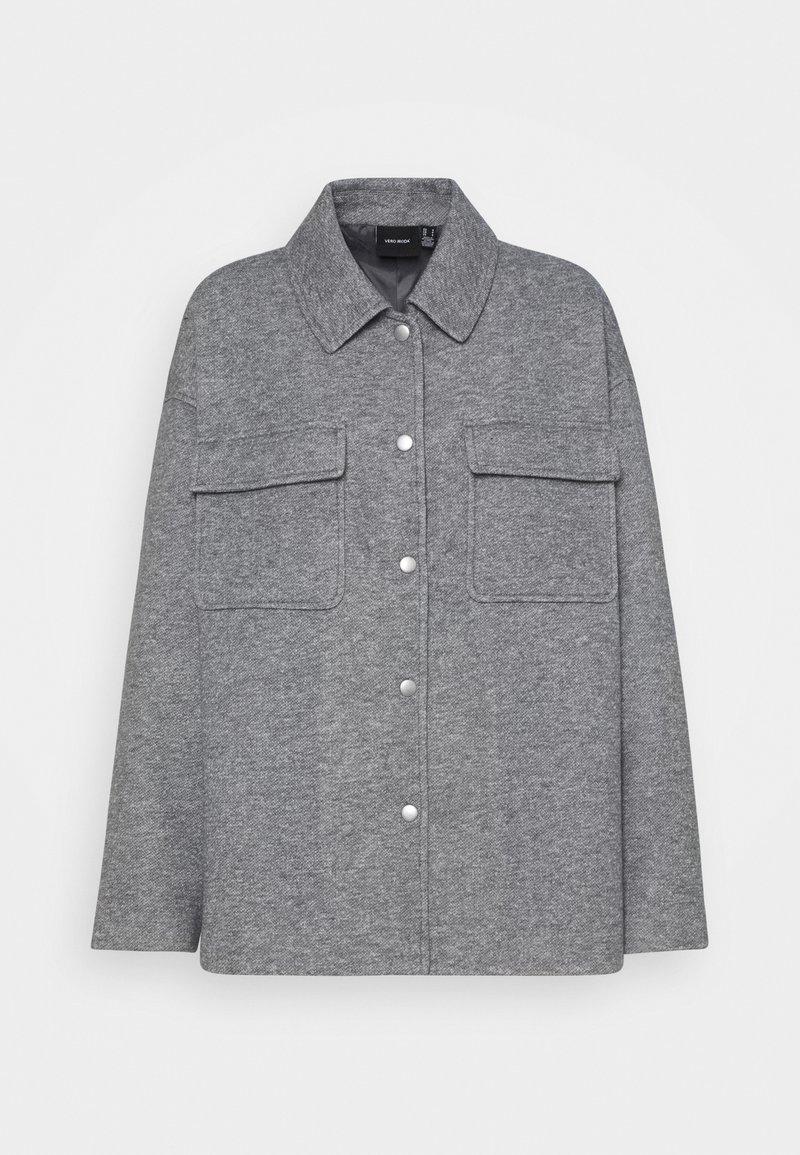 Vero Moda - VMVERODONAVITA JACKET - Summer jacket - light grey melange