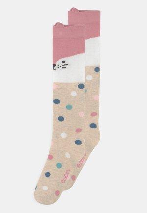 KNEE HIGH 2 PACK - Knee high socks - white