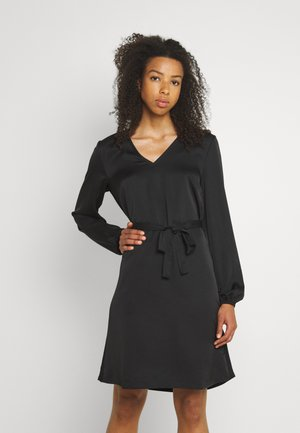 VIELLETTE VNECK DRESS - Vestido informal - black