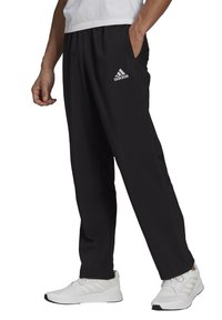 adidas Performance - STANFORD AEROREADY - Tracksuit bottoms - black - 0