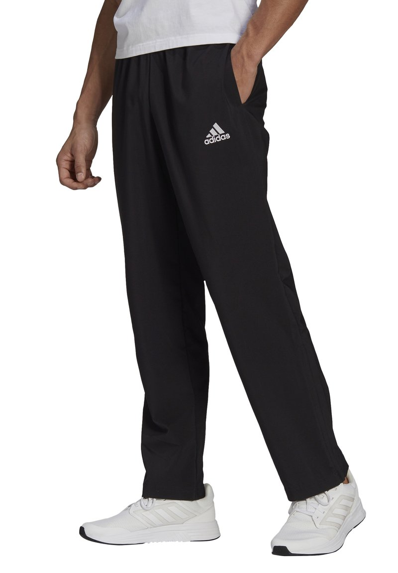 adidas Performance - STANFORD AEROREADY - Tracksuit bottoms - black