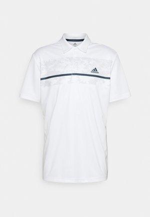 CHEST PRINT - Poloshirt - white