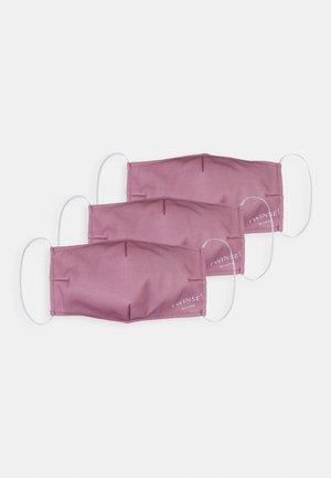 FACE MASK 3 PACK - Stoffen mondkapje - pink