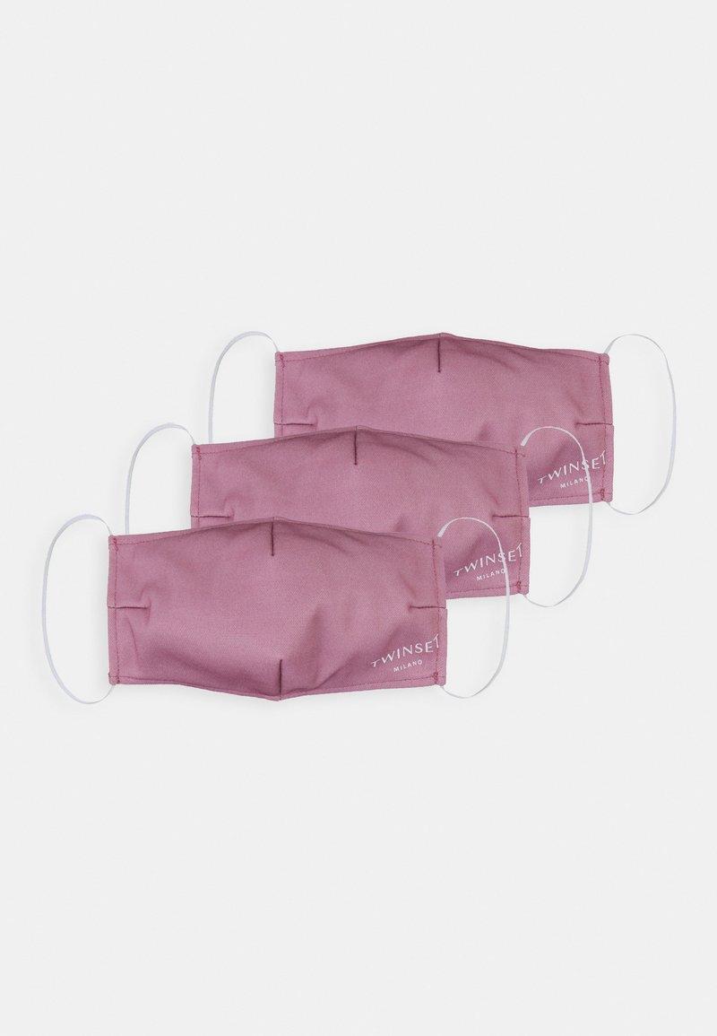 TWINSET - FACE MASK 3 PACK - Maschera in tessuto - pink