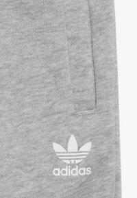 adidas Originals - BIG TREFOILCREW SET - Tuta - mid grey heather/white - 4