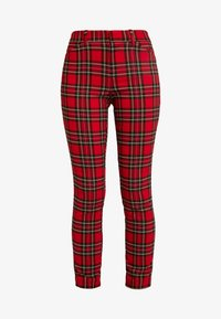V-SKINNY ANKLE BISTRETCH - Trousers - red