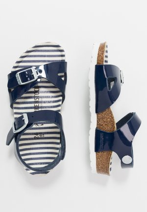 RIO - Sandals - nautical navy