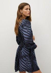 Mango - BASIC - Robe d'été - bleu - 3