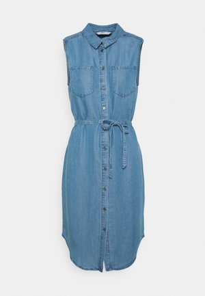 ONLCLAIRE  - Denim dress - medium blue denim