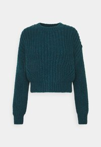 BDG Urban Outfitters - BALLOON SLEEVE JUMPER - Jersey de punto - blue coral - 0