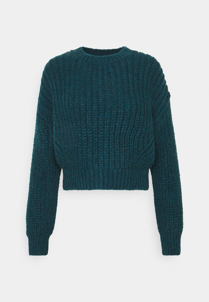 BDG Urban Outfitters - BALLOON SLEEVE JUMPER - Jersey de punto - blue coral