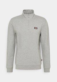 Dickies - OAKPORT QUARTER ZIP - Sweatshirt - grey melange - 0