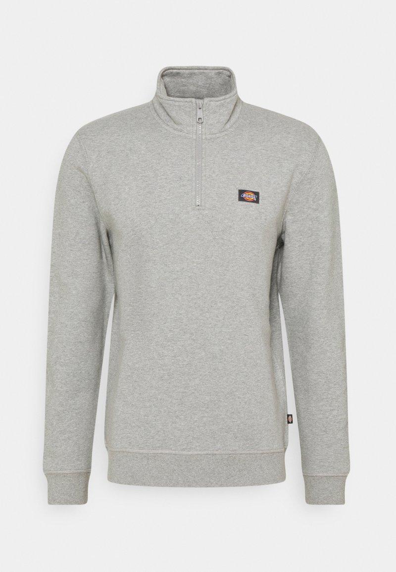 Dickies - OAKPORT QUARTER ZIP - Sweatshirt - grey melange