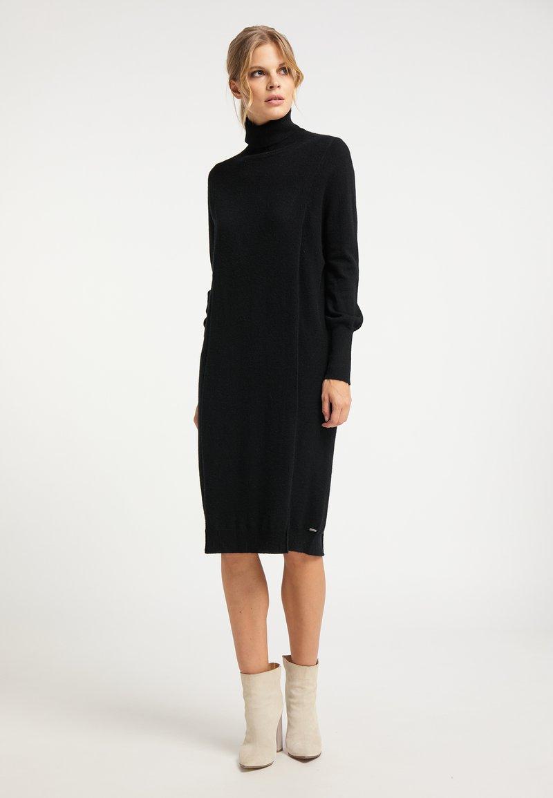 DreiMaster - Jumper dress - schwarz