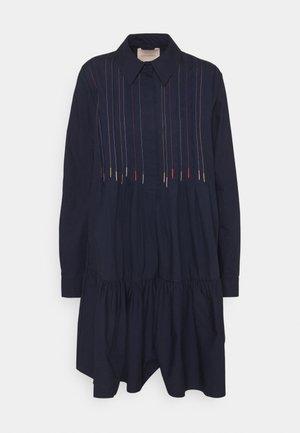 DILARA DRESS - Shirt dress - navy