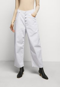MM6 Maison Margiela - Trousers - grey - 0