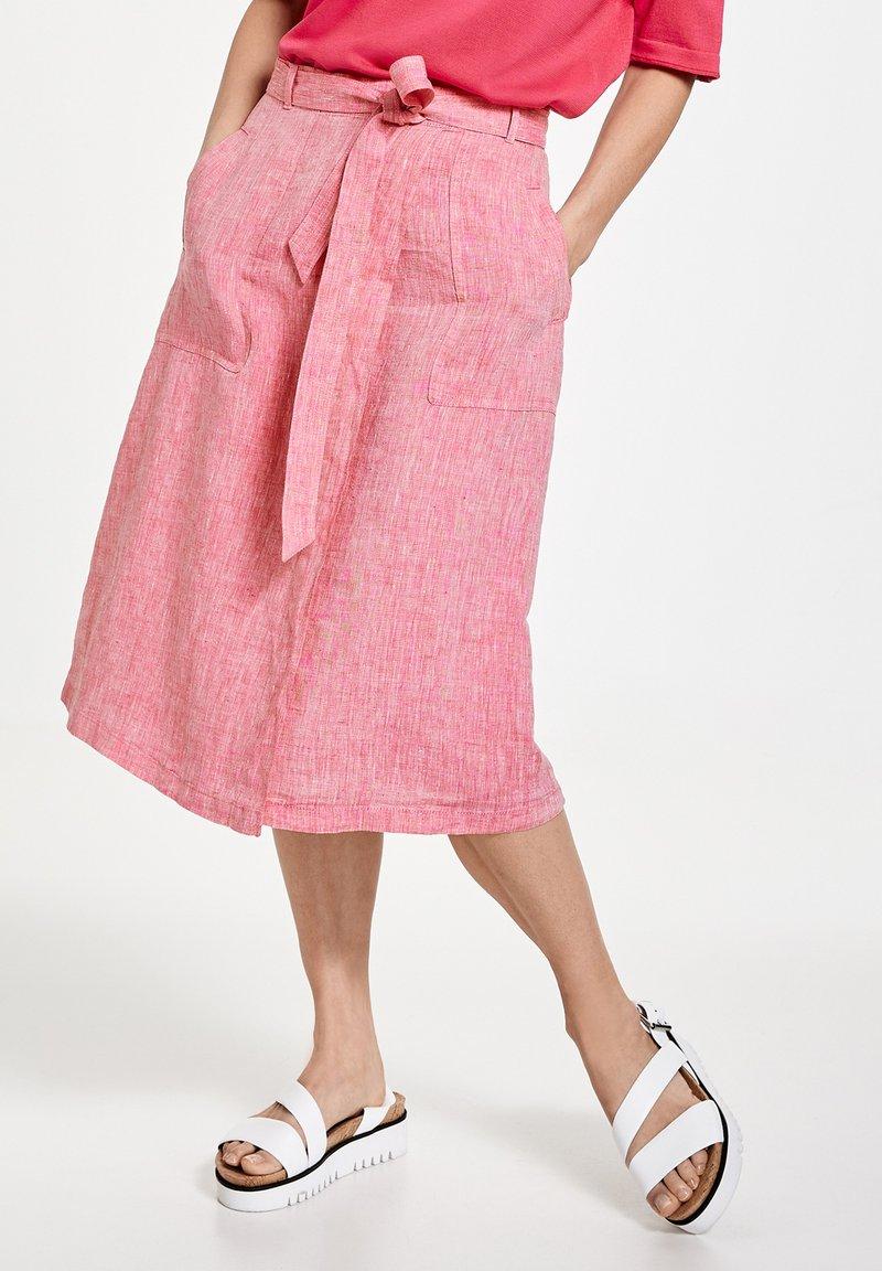 Gerry Weber - A-line skirt - rasberry melange