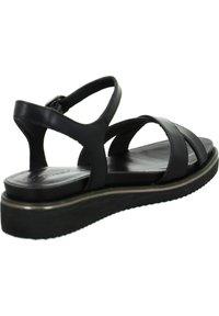Tamaris - Wedge sandals - schwarz - 1