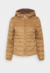 ONLY Petite - ONLNEWTAHOE QUILTED HOOD  - Lehká bunda - toasted coconut - 4