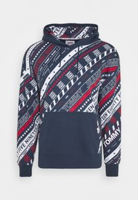 Tommy Jeans - HOODIE - Sweat à capuche - twilight navy - 0
