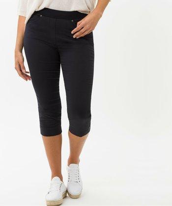 Trousers - dunkel blau