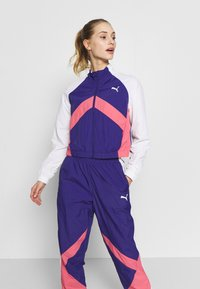 Puma - STUDIO CLASH ACTIVE TRACK JACKET - Treningsjakke - purple - 0