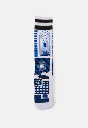 COVER CREW SOCK UNISEX - Socks - white/blue
