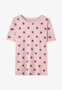 PULL&BEAR - Print T-shirt - pink - 0
