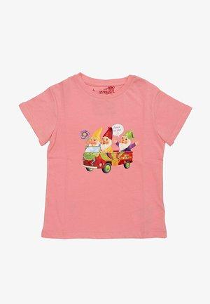 GNOMES  - T-shirt print - rosa